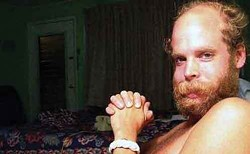 Will Oldham reads Rudy Wurlitzer at Basilica Industria in Hudson on April 28.