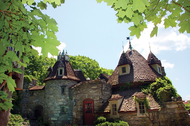Wing's Castle, a fanciful Millbrook residence.
