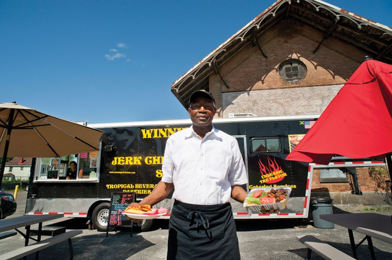 Winston Francis of Winnie's Jerk Chicken. - ROY GUMPEL