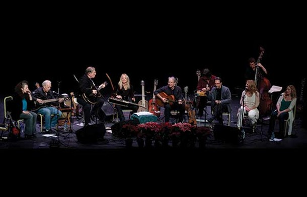Winter Solstice Concert with Happy Traum and Friends on December 16 - at the Woodstock Playhouse. - CATHERINE SEBASTIAN