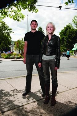 Woodstock: Galen Scheidenhelm and Jenna Nanke. - JENNIFER MAY