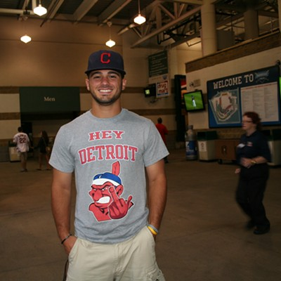 10 Fan Pics from Last Night's Cleveland Indians vs. Detroit Tigers Game