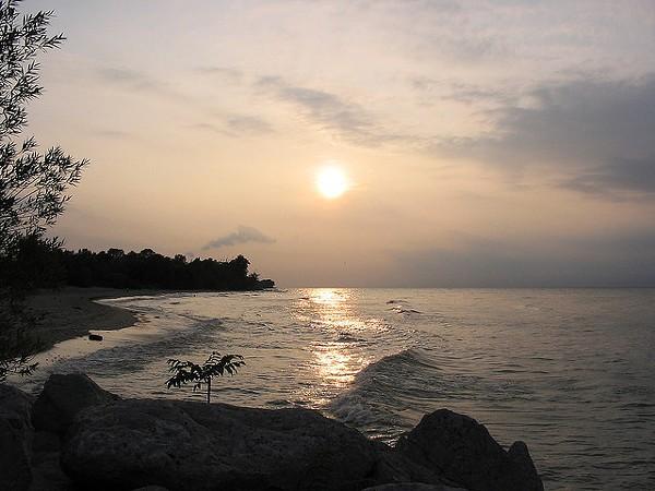 1. Geneva State Park Beach