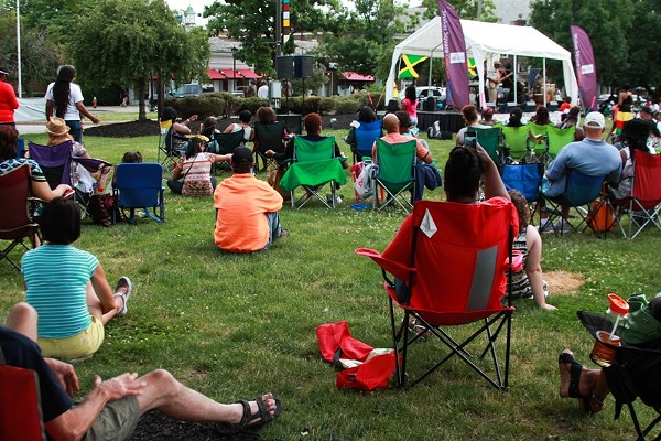 10 Photos from the Shaker Square Concert Series Featuring Jah Messengers
