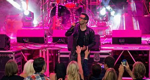 10 Photos of the U2 Tribute Band Elevation Performing at Rockin' on the River