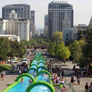 1,000 Foot Water Slide to Take Over Cleveland Streets this Summer