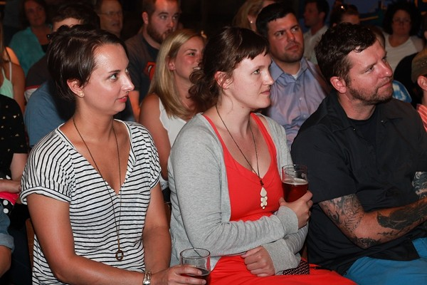 15 Photos from Last Night's Storytelling Series at Market Garden Brewery