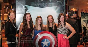 15 Photos from the Captain America Premiere at Valley View