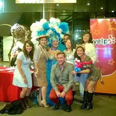 15 Photos of the Scene Events Team at Yelp's Walk On the Wild Side Party