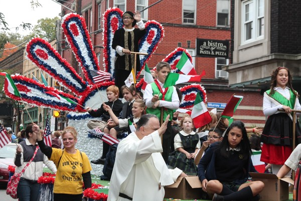 19 Photos of the Columbus Day Parade in Little Italy | Cleveland | Cleveland Scene
