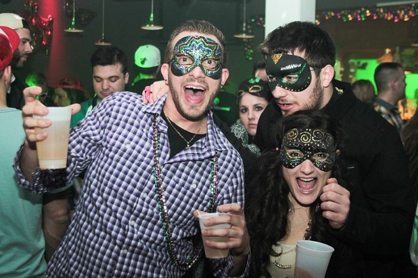20 Photos of Clevelanders Celebrating Fat Tuesday at Around the Corner and Jezebels Bayou