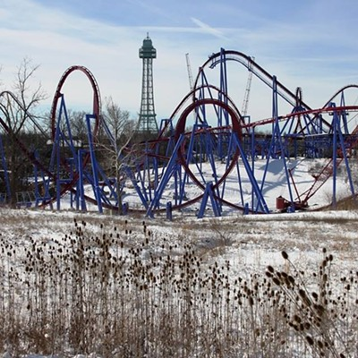 20 Photos of Snowy Ohio Amusement Parks