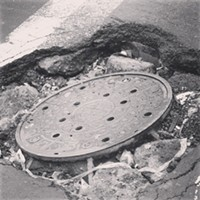 Potholes/Manholes  Photo Courtesy of Lana Kecovich, Instagram,