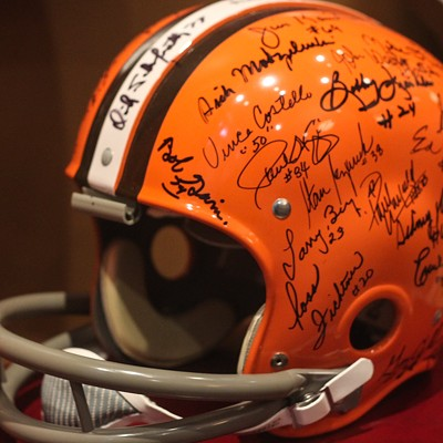 21 Cool Things We Spotted at the New Cleveland Browns Exhibit at Western Reserve Historical Society