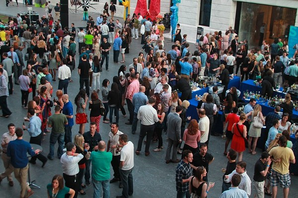 Photos of Last Night's Mix Event at the Cleveland Museum of Art