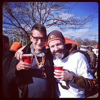25 of Your Photos from the Cleveland Browns vs. Baltimore Ravens Game  Photo via shane_yafanaro, Instagram