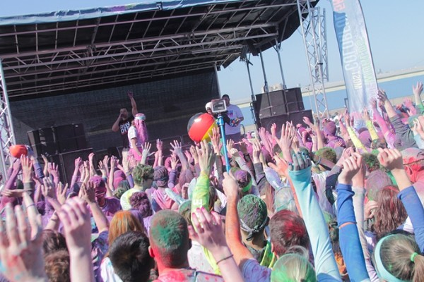 25 Photos from the Run or Dye 5K in Downtown Cleveland