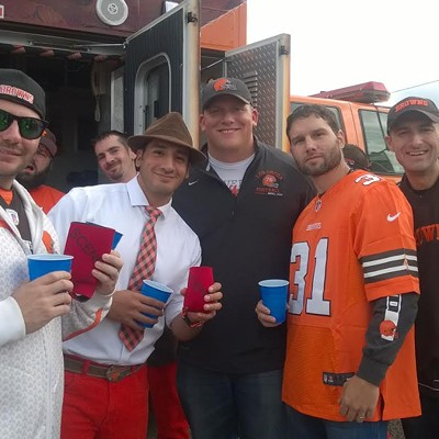 26 Photos from the Cleveland Browns Home Opener and Tailgating at the Muni Lot
