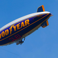 6. Blimps (Who Doesn't Love Blimps?)  Photo courtesy of Flickr Creative Commons