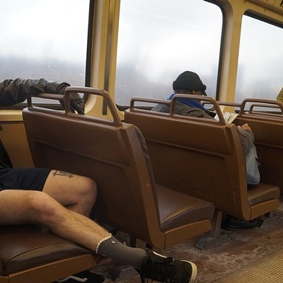 40 Photos from Cleveland's No Pants Subway Ride