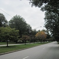 Fairmount Boulevard ...A grass-lined median makes nearly any road beautiful, and Fairmount is certainly no exception. ERIC SANDY/SCENE