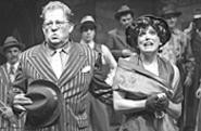 A guy and his doll: Rohn Thomas and MaryAnn Black - are a riot as Nathan and Adelaide.