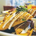 A Hold On Us: Try Wrestling Us Away from El Carnicero's Tamales, Tacos and Tequila... We Dare You