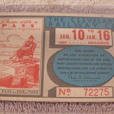 The Awesome Cleveland Railway Passes of the 1930s