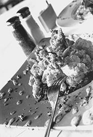 A new take on mall food: Posto Vecchio. - WALTER  NOVAK