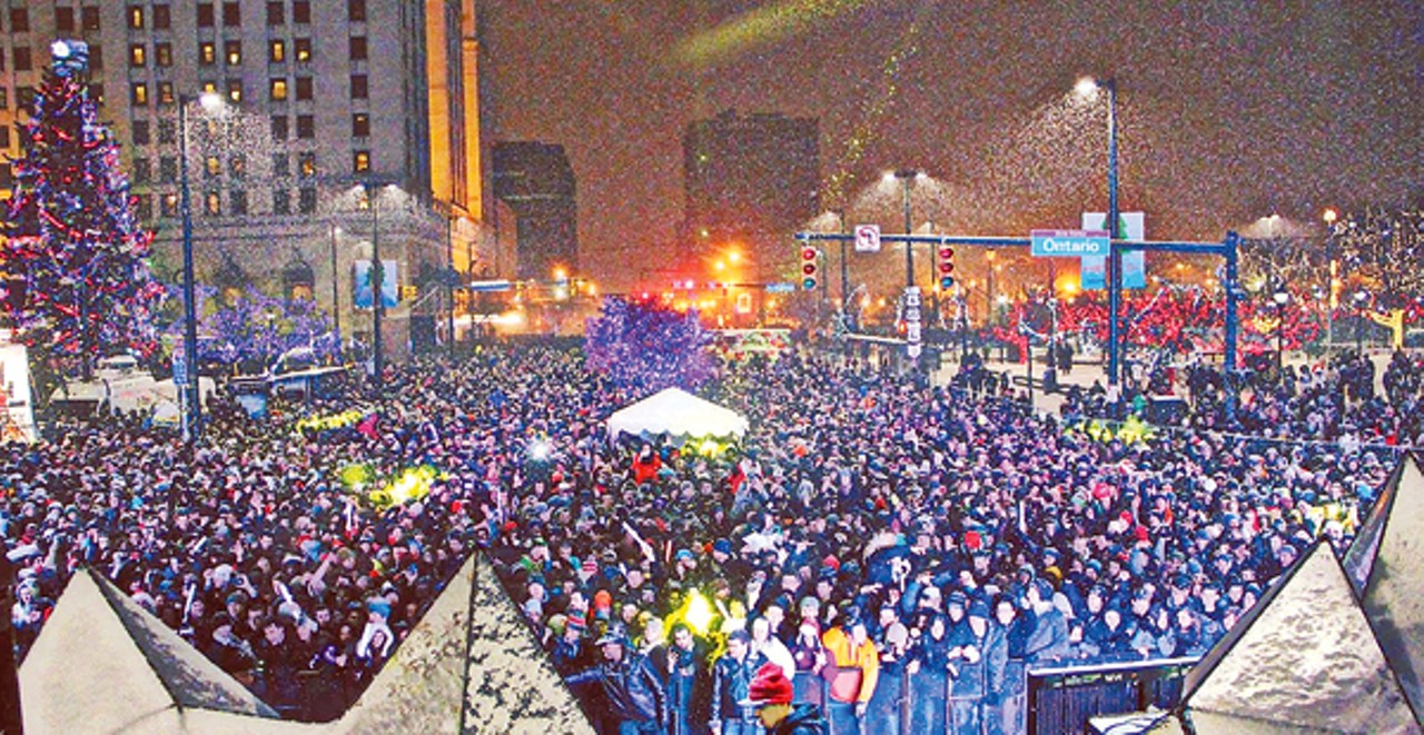 Downtown New Years Eve