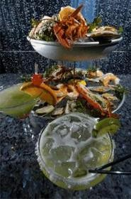 A towering pleasure: Seafood lovers, this one's for you. - WALTER  NOVAK