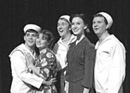 A well-intentioned cast tackles a really big show with - On the Town.