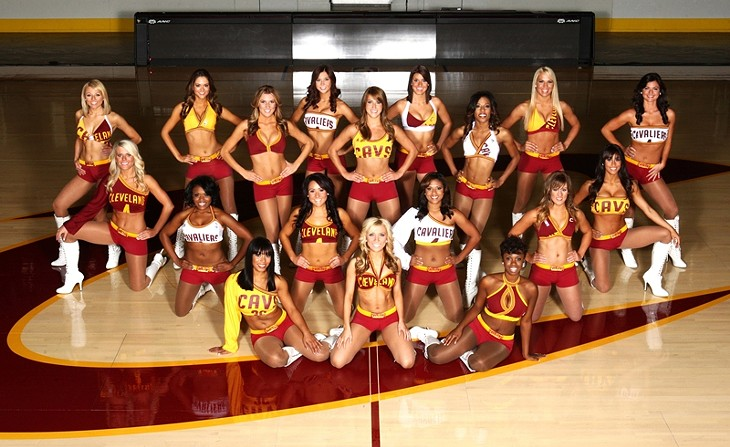 Everything You Ever Wanted to Know About Being a Cleveland Cavalier Girl