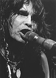 Aerosmith frontman Steven Tyler opened wide at - Blossom last Wednesday. - WALTER  NOVAK