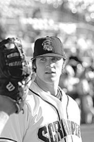 After Crowe swatted Pac-10 pitchers like fruit flies, the - Indians made him their first pick. - WALTER  NOVAK