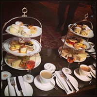 Cleveland Eats (and Drinks): 25 Things You Consumed this Week Afternoon tea #cleveland #hotel #afternoon #tea #birthday #marlow Photo Courtesy of Instagram User sunnyc216