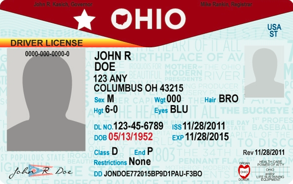 Airports may reject ohio driver 39 s licenses as valid for Bureau of motor vehicles columbus ohio