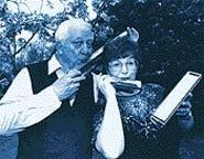 Al and Judy's lip service. - WALTER  NOVAK