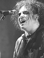 Alive and moping: The Cure's Robert Smith, at - Blossom, August 4. - WALTER  NOVAK