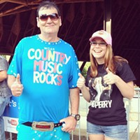 16 Swagalicious Shirts of Mall Guy And at Country music festivals. Photo Courtesy of Danielle Honsaker via Instagram