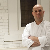 """9 Local Chefs We're Proud to Say Belong to Cleveland Andy Dombrowski: L'Albatros, Chinato, and Cowell & HubbardUnless you've been living under a rock for the past decade, you've likely heard of Zack Bruell and his successful restaurant empire, which now includes L'Albatros, Parallax, Chinato, Table 45 and Cowell & Hubbard. But Bruell understands that he is hardly a one-man show. Enter Andy Dombrowski, corporate chef of Bruell's ever-expanding restaurant group. A native Clevelander, Dombrowski is Bruell's secret weapon in the kitchen. At 12, Dombrowski would cook spaghetti and stir-fry for his family, inspired by cooking shows on TV. In high school, Dombrowski got his first taste of the hospitality biz by working at a local McDonald's. He later entered a vocational cooking program at Normandy High School, where a teacher noticed his passion and work ethic and recommended him for a summer job at Watermark Restaurant in the Flats. Working under executive chef Michele Gaw, Dombrowski started as a prep cook making more than 300 pierogies a day. """"Andy was energetic, enthusiastic and a great addition to the team,"""" recalls Gaw. """"I knew he would be a great cook."""" MORE>>"""