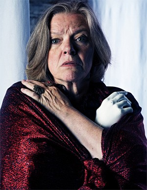Anne McEvoy plays a troubled wife.