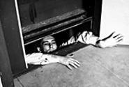 Anybody there? Maurice Ronet can't get up or down in - Elevator to the Gallows (Friday).