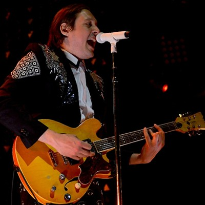 Arcade Fire performing at Quicken Loans Arena