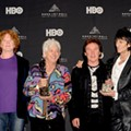 Backstage at the Rock Hall Inductions