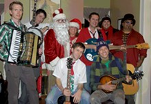 Be festive like the Ohio City Singer. Also, go see them. See details under Holiday Rock & Pop Music.