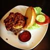 Beef brisket burger with pickled jalapeño #GLFT #Cleveland