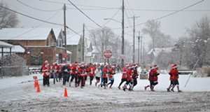 Beer, Running and Christmas Spirit: Pictures From Saturday's Tremont Santa Shuffle