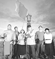 Big words, big thoughts, and a mighty big flag: The - Decemberists bring their maritime tales to the - Beachland.