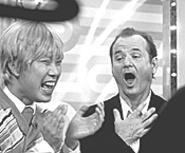 Bill Murray tries karaoke. Karaoke wins.